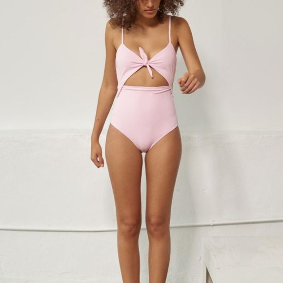 819435b99b Mara Hoffman Swim | Kia Pastel Pink One Piece Suit | Poshmark